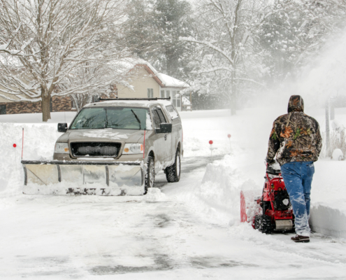 Snow and Ice Removal Advice for Risk Management
